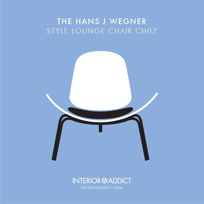 Wegner Style CH07 Chair #Wegner #Chair #CH07