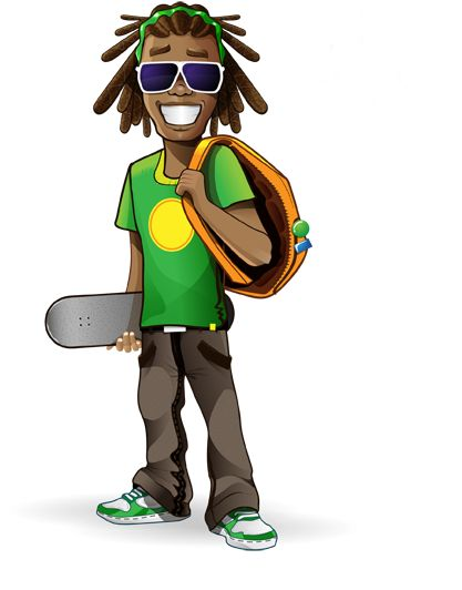 Image for Free Rastaman Vector Character