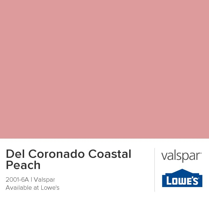 Valspar Coral Peach Spray Paint