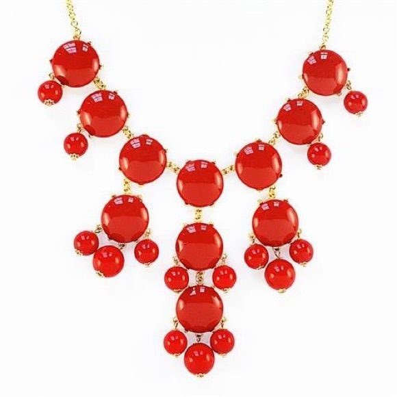 Red bubble necklace Great condition :) Jewelry Necklaces