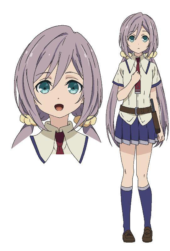 Sassa Kurasaki | TV Anime Busou Shoujo Machiavellism (Armed Girls Machiavellism)