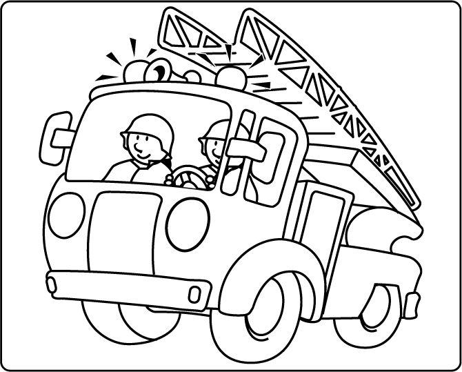 Malvorlagen Feuerwehr Zum Ausdrucken | My blog