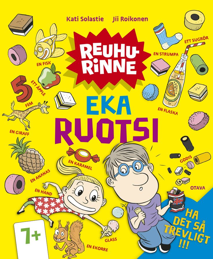 Title: Eka ruotsi | Author: Kati Solastie | Designer: Jii Roikonen, Päivi Puustinen