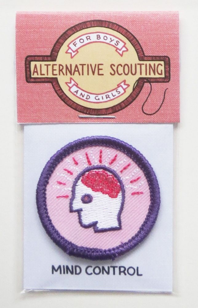 Image of Alternative Scouting Merit Badges - MIND CONTROL