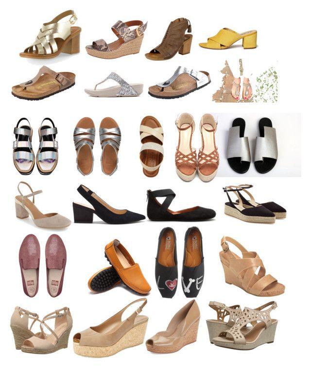 25 shoes to wear when your feet hurt... by mimi-briji on Polyvore featuring Jimmy Choo, Paul Andrew, Gentle Souls, Miz Mooz, Rowen, FitFlop, Clarks, Calvin Klein, Sam Edelman and Bella-Vita