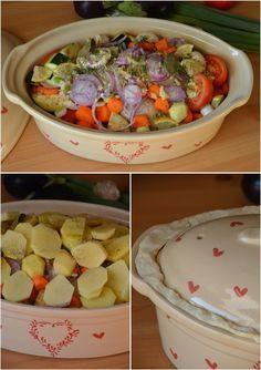 Poulet et petits légumes en baeckeoffe {partenariat poterie alsacienne} - Le blog de C'est Nathalie qui cuisine