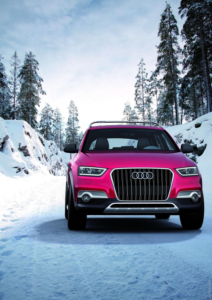 2012 Audi Q3 Vail  My dream car! Too bad I'll have a teachers salary :(