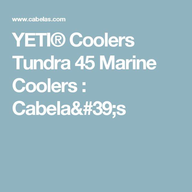 YETI® Coolers Tundra 45 Marine Coolers : Cabela's