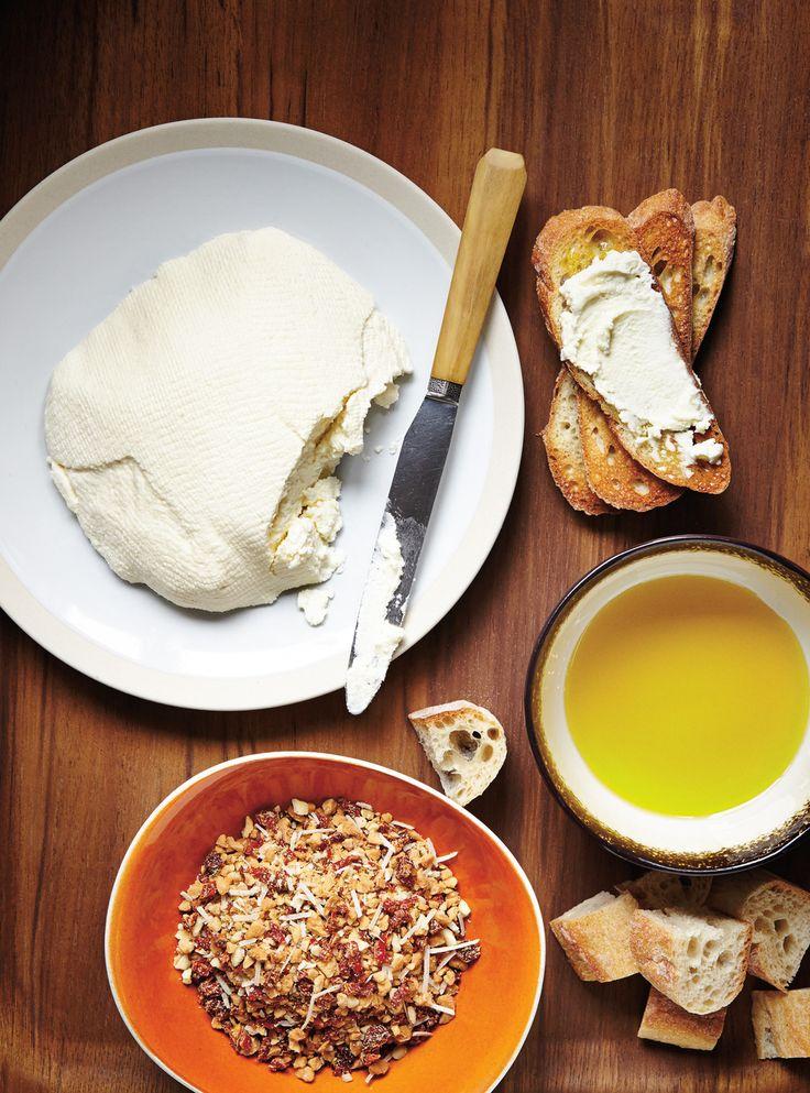 Recette de Ricardo de fromage ricotta sans lactose