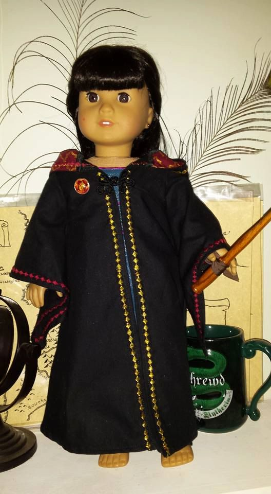 Custom Doll Harry Potter Robes by LadyKMakes on Etsy