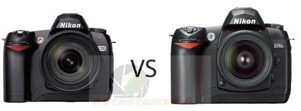 Nikon D70s vs Nikon D70, apa saja bedanya ??