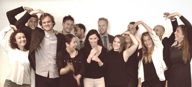 Mediebyrå-gjengen #kolleger #jobb #gjeng