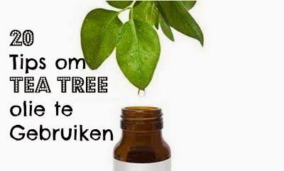 Eet goed, Voel je goed: 20 Tips om Tea Tree Olie te Gebruiken