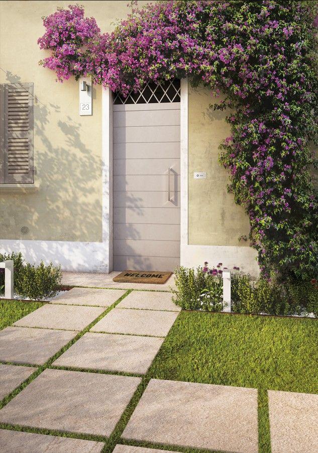 Venkovní terasová dlažba v imitaci kamene Multiquarz20 | Keramika Soukup