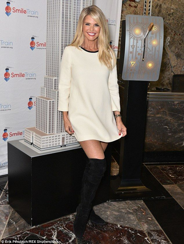 The model released her book Timeless Beauty in November, and the page turner has landed at the eighth spot on the Times' Advice, How-To & Miscellaneous List (Pictured last week in New York)