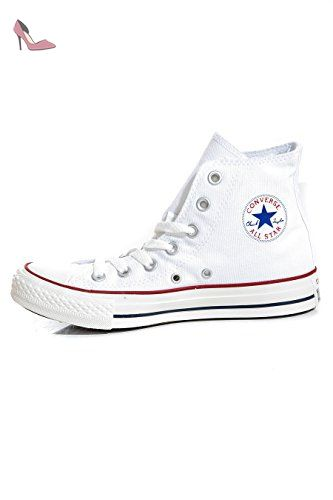 Converse - Converse All Star Montante Optical White-Taille - 40 - Chaussures converse (*Partner-Link)