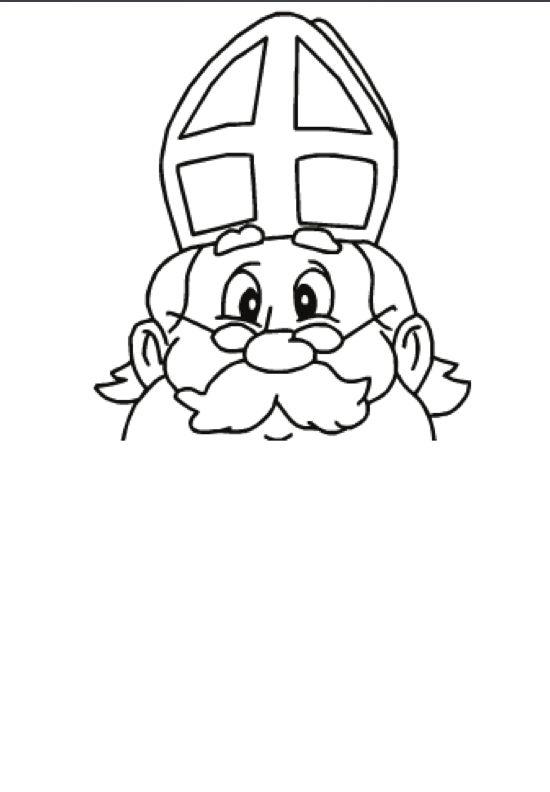 ontwerp een nieuwe baard voor sinterklaas tekenen of