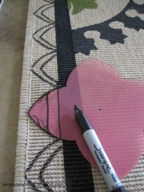 Simple Details: diy suzani rug...