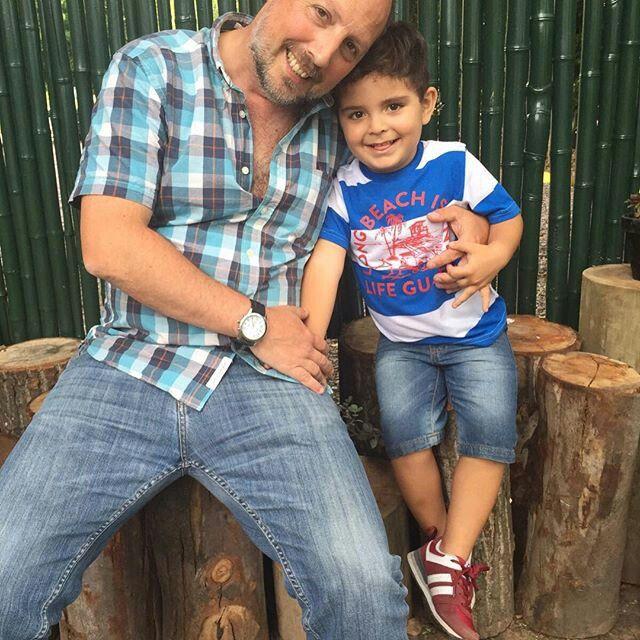 Foto con el abuelo :)