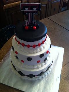 Real Good Cakes: Texas Tech Cake