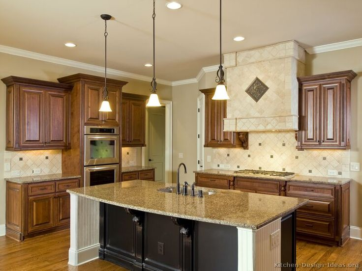 Kitchen Cabinets And Islands 14 best two tone kitchens with dark cabinets images on pinterest