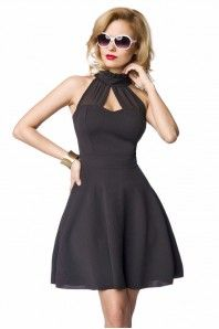 Find din feminine side frem med denne fantastiske sorte kjole fra BeautyAndDresses.dk | Findes også i hvid. http://beautyanddresses.dk/-korte-kjoler/?categories=toj%2Fkjoler