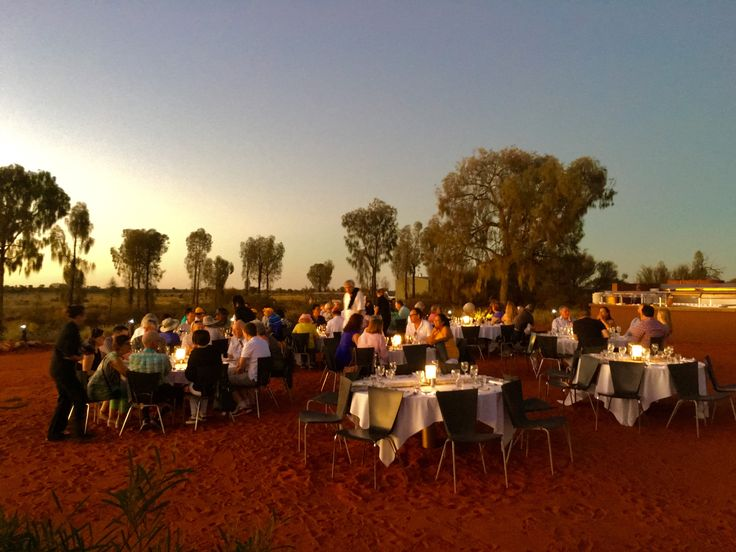 Sounds Of Silence Dinner at Uluru - an unforgettable experience
