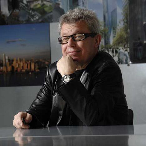 """Libeskind rails at architects who build """"gleaming towers for despots""""  Dezeen"""