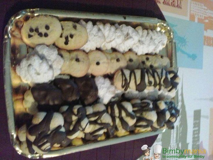 Frolla montata BImby per sparabiscotti, l'impasto perfetto per utilizzare la sparabiscotti e preparare i biscottini da tè in un lampo! Ingredienti: ...
