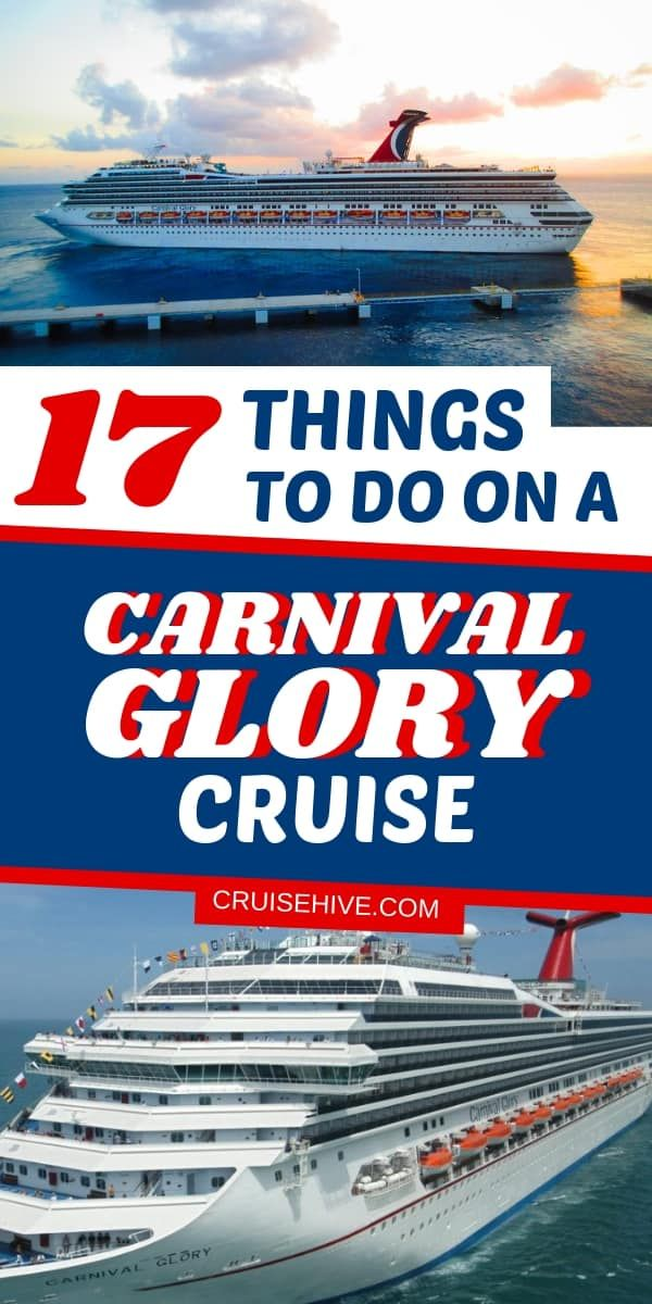 17 Things to Do on a Carnival Glory Cruise | Carnival ...