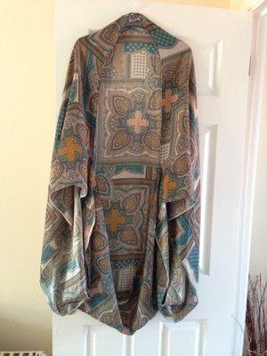 Paisley Matt Cocoon Kimono  by Julia hearts you