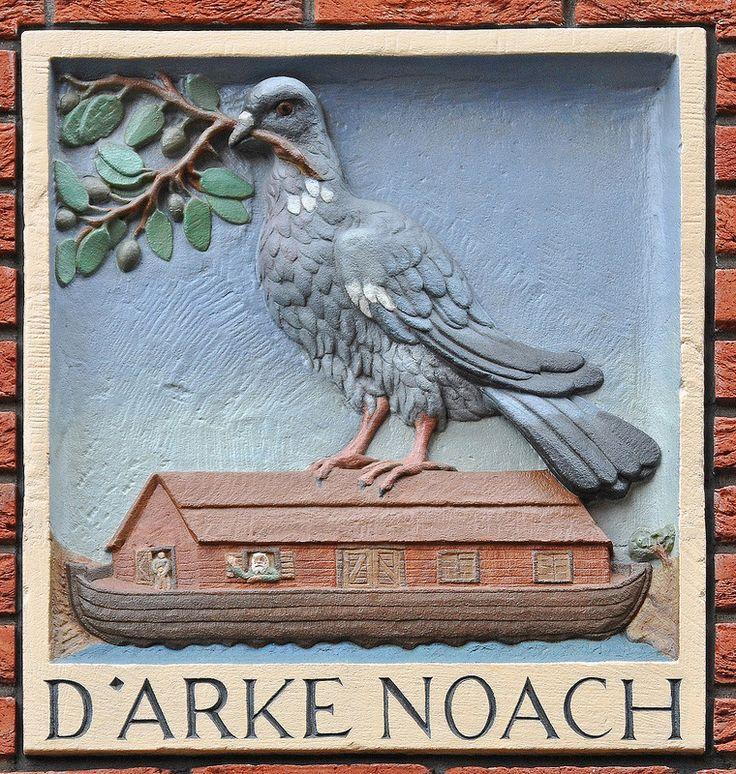 Gevelsteen D' ARKE NOACH | by Vereniging Vrienden van Amsterdamse Gevelstenen