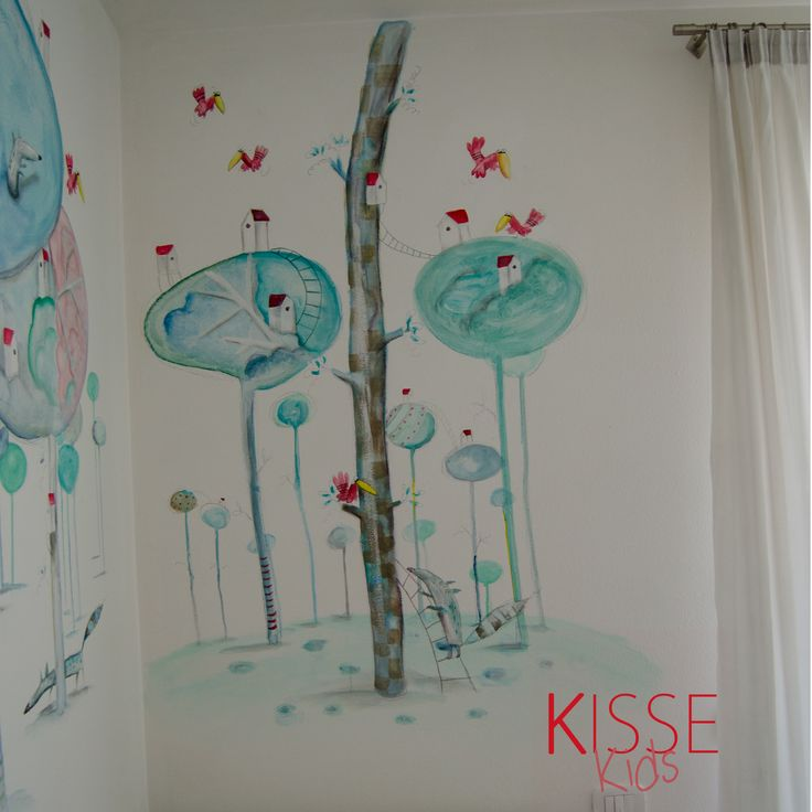dipinto su muro cameretta