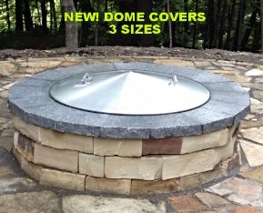 Stainless steel fire pit spark screens,folding conical metal covers