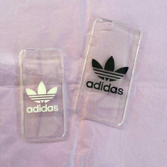 Carcasas Adidas Blanco-Negro iphone 5s que lindaass ❤