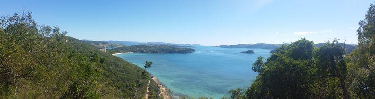 Passage Peak lookout #hamiltonisland #passagepeak #views #breathtaking #beachviews #paradise
