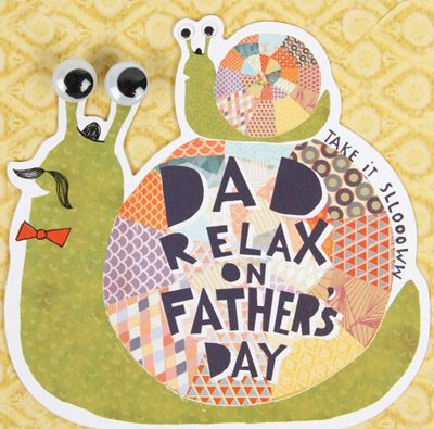 Paperchase father's day via print & pattern