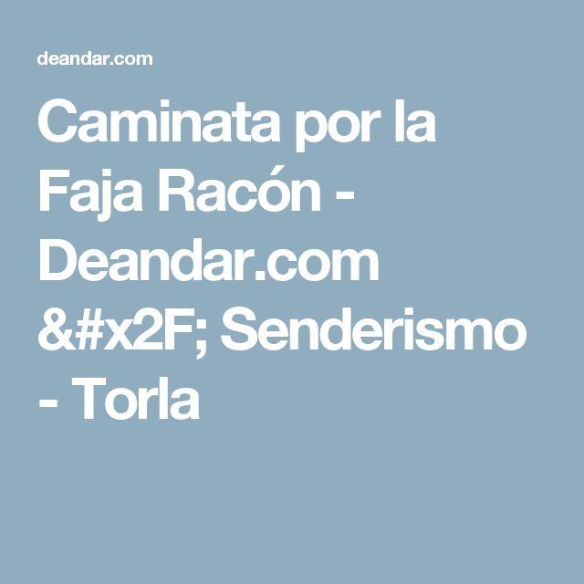Caminata por la Faja Racón - Deandar.com / Senderismo - Torla