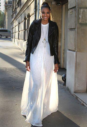 T shirt style maxi dress