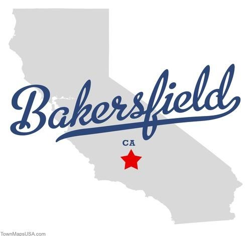 Bakersfield California. (We kind of got a bit lost . . . Once we got back on the freeway, we virtually bypassed Bakersfield: Sheila Chapman photo)