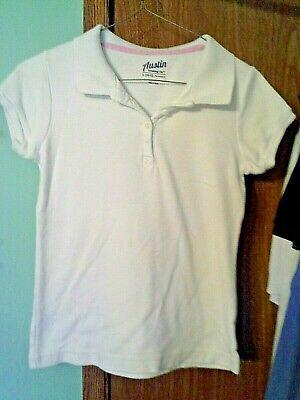 Austin Mädchen Uniform weiße Hemden Größe 10-12 große # Mode #Kleidung #Schuhe # …   – T-Shirts