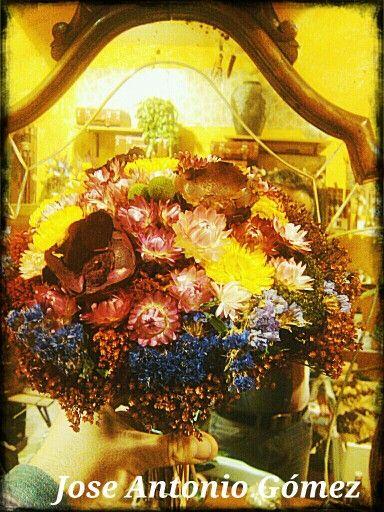 Sequé este precioso bouquet para ti....