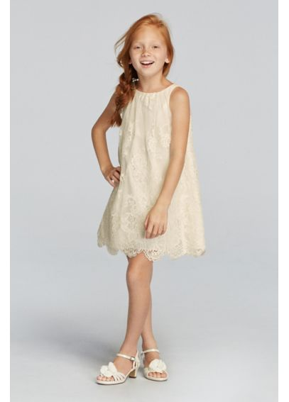 96043144211 Isn t this the cutest flower girl dress ever!  Dress by  davidsbridal
