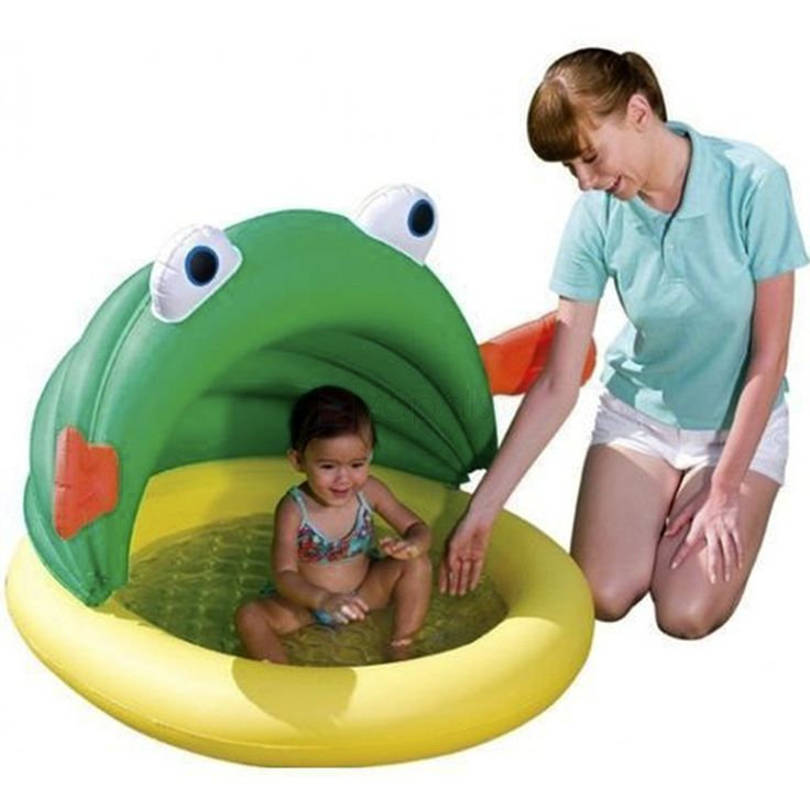 Bestway Goldfish-shaped Inflatable Baby Pool