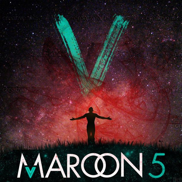 Maroon 5 Album Cover by Mikee on CreativeAllies.com
