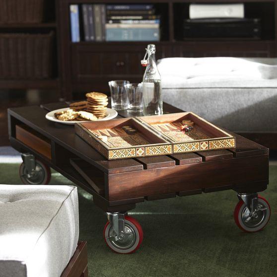 cute pallet table