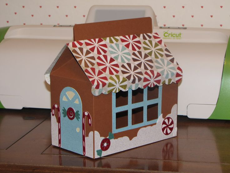 with Cricut cartridge Sweet Treat Boxes