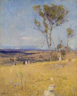 Arthur Streeton: Near Heidelburg