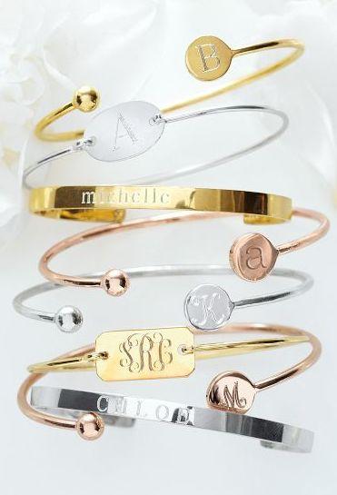 Simple jewelry: pretty & personalized