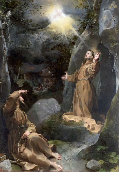 "coriesu: ""Saint Francis Receiving the Stigmata Federico Barocci """